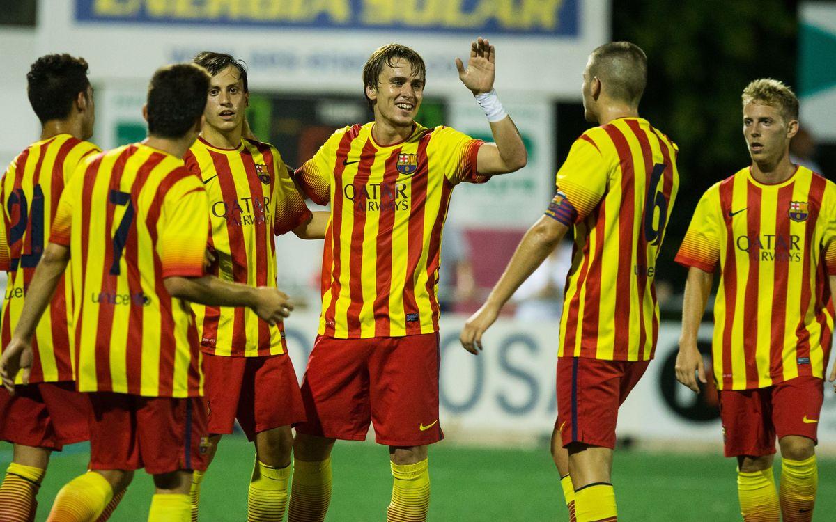 El Barça B guanya a Banyoles (0-2)