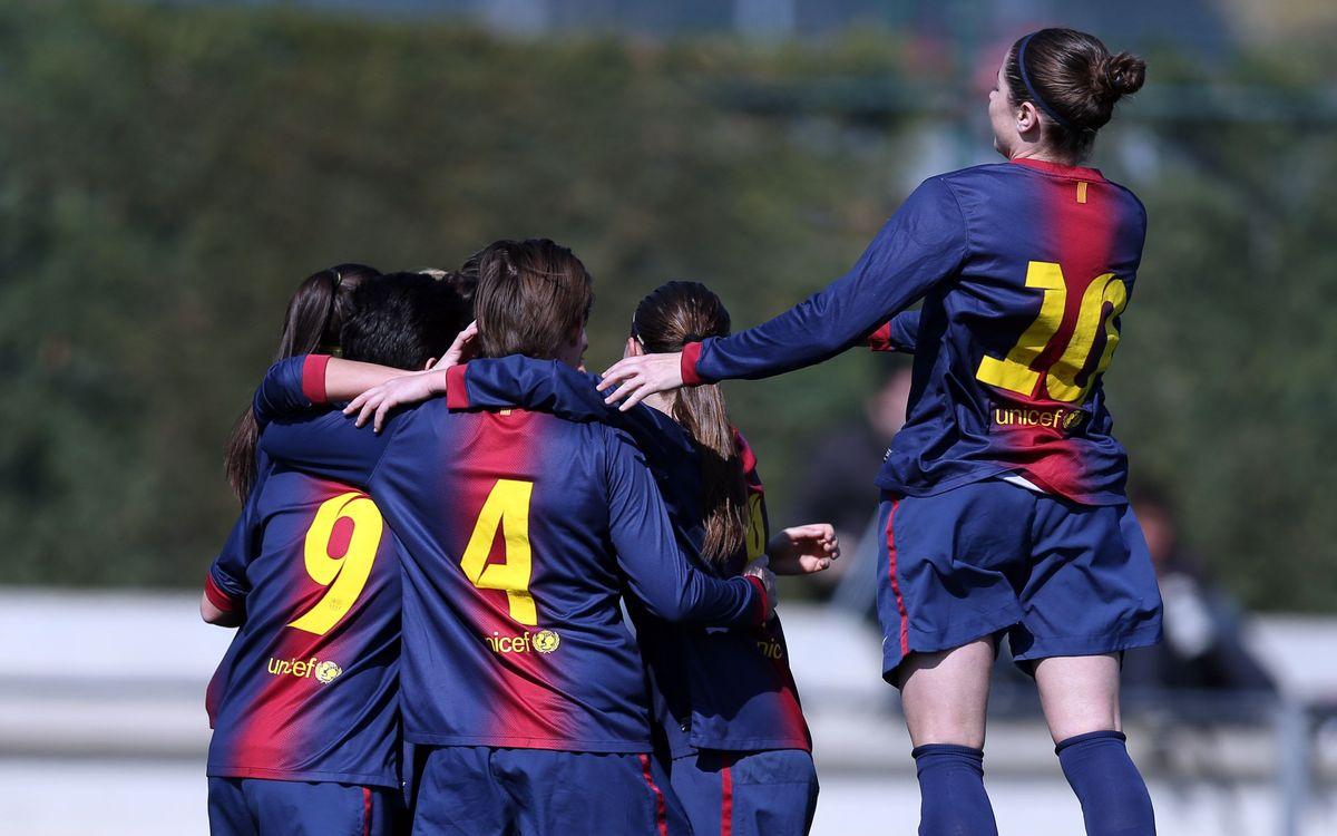 Atlètic de Madrid – Femení A: Pas de gegant per ser a la final (0-3)