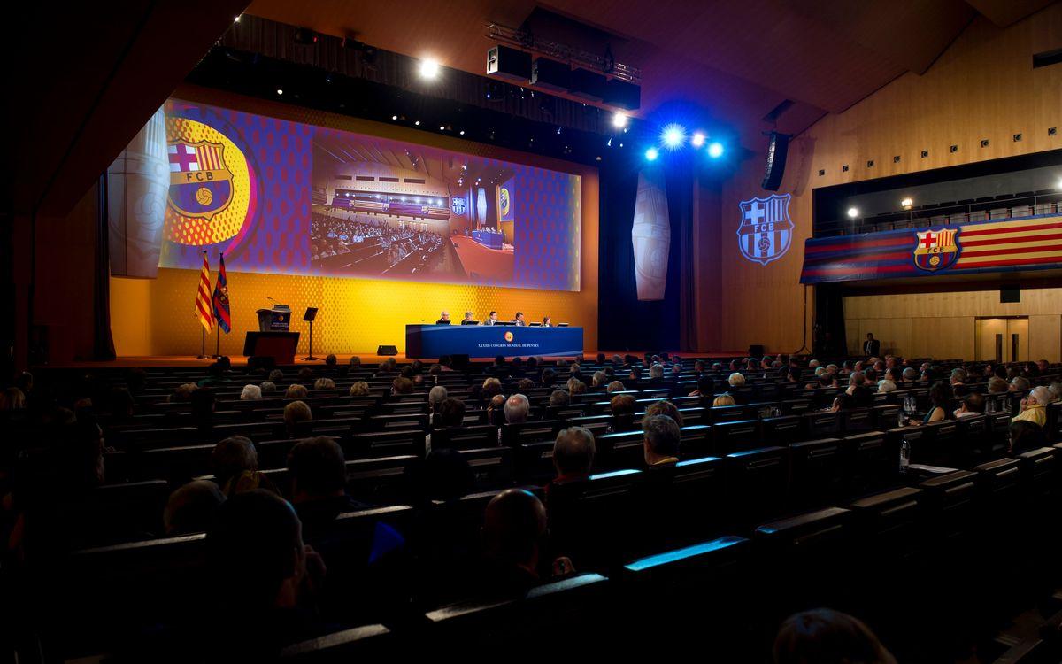 XXXIVè Congrés Mundial de Penyes del FC Barcelona 2013, en directe