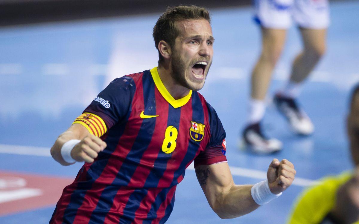 FC Barcelona – Dinamo Minsk: Dolç aniversari (35-25)