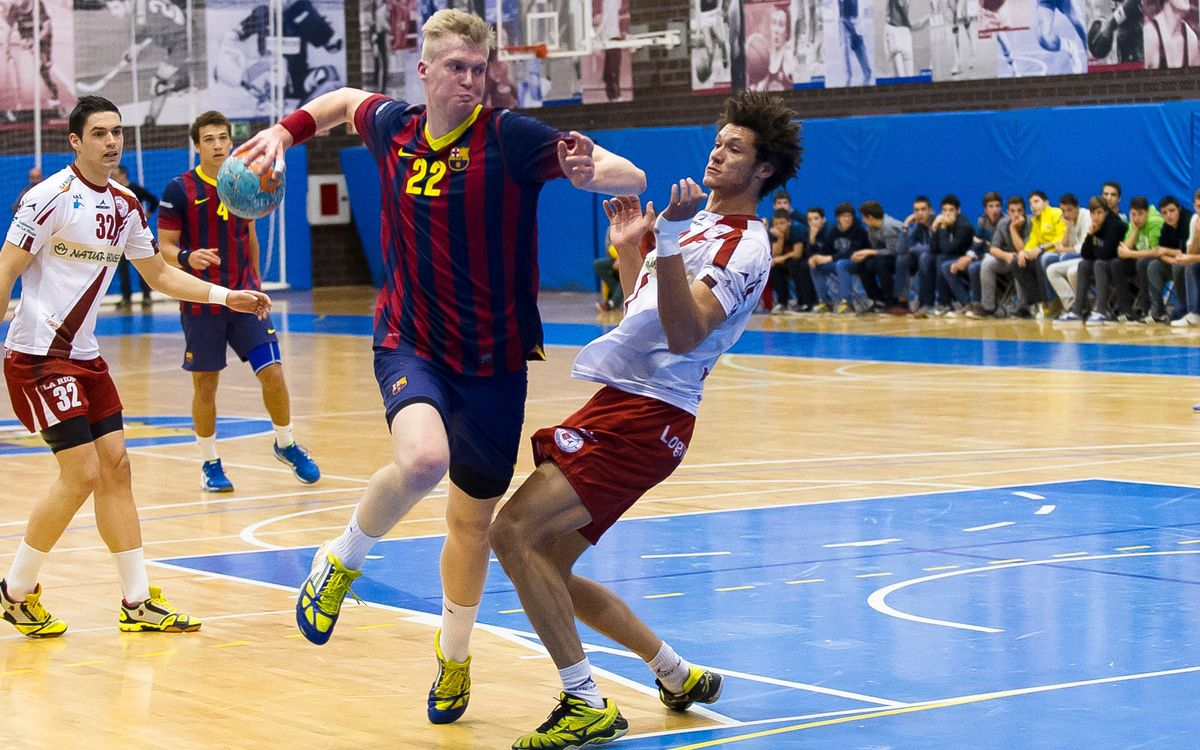 FC Barcelona B – Naturhouse La Rioja: Triomf històric del filial (39-38)