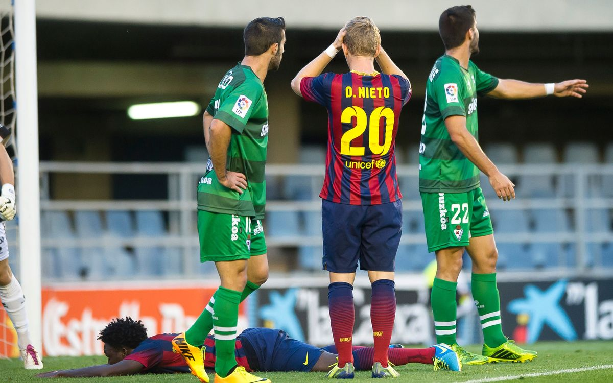 FC Barcelona B - SD Eibar: The visitors take the Mini (0-2)