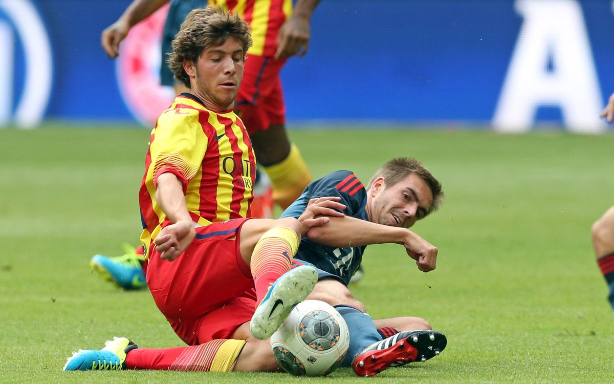 "Sergi Roberto: ""I think Martino is the ideal manager for us"""