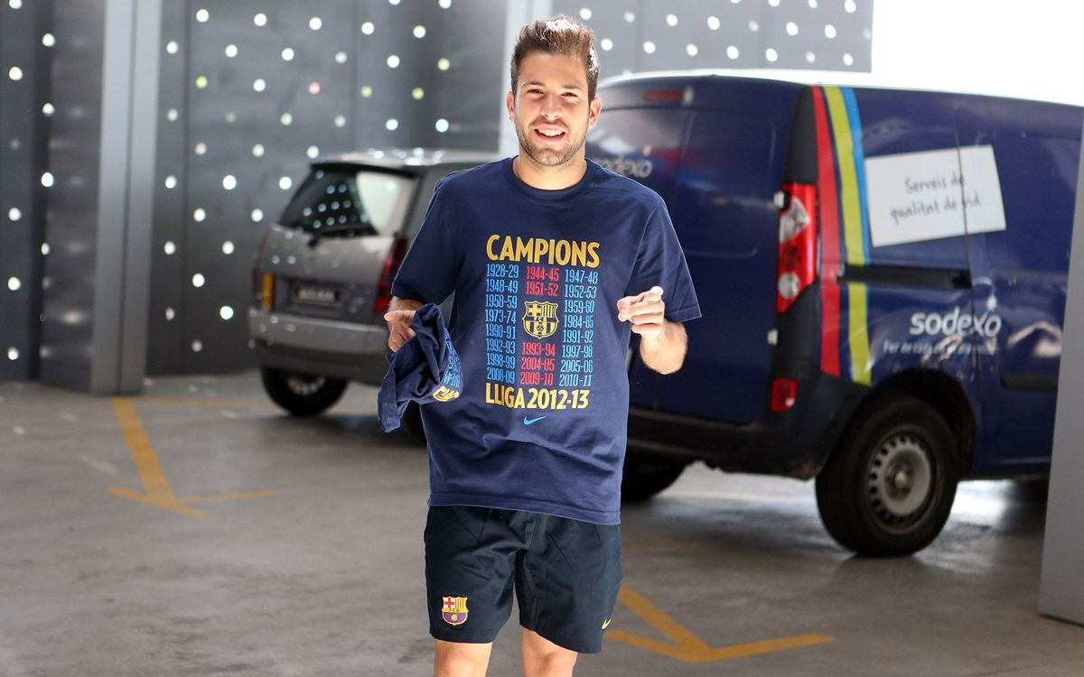 The Liga Parade, by Jordi Alba
