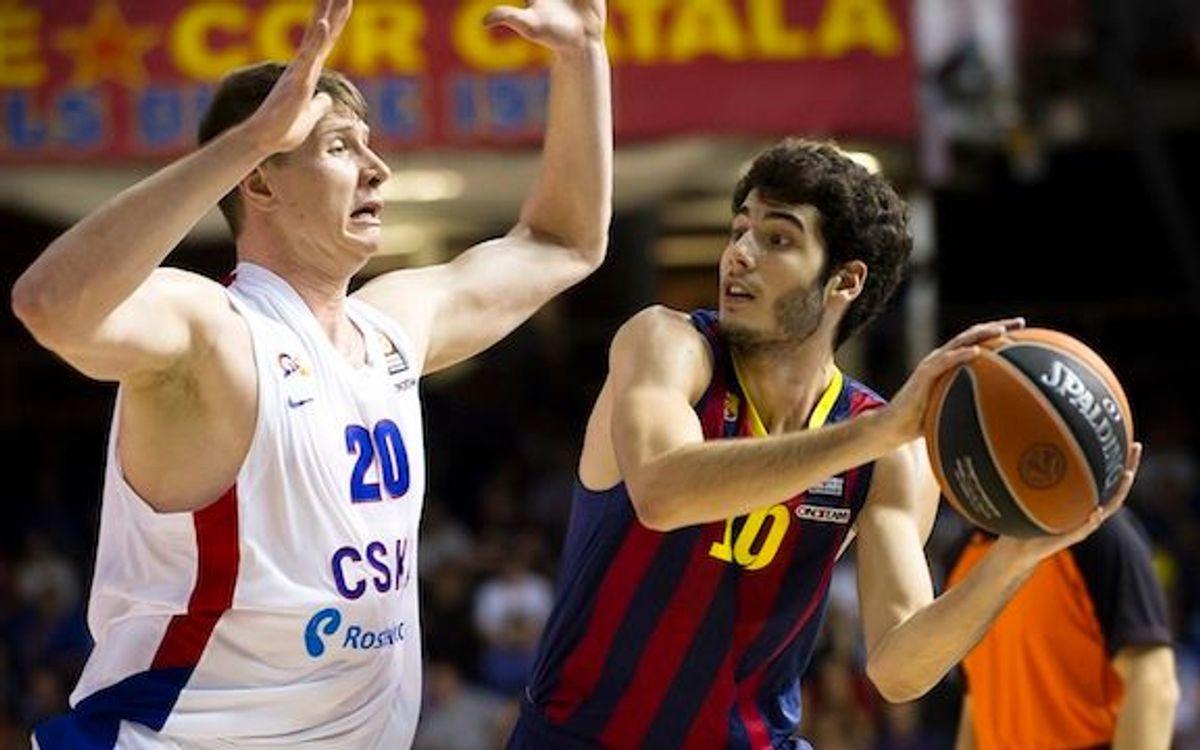 Abrines i Hakanson opten al premi de millor jugador jove del 2013 per la FIBA Europa