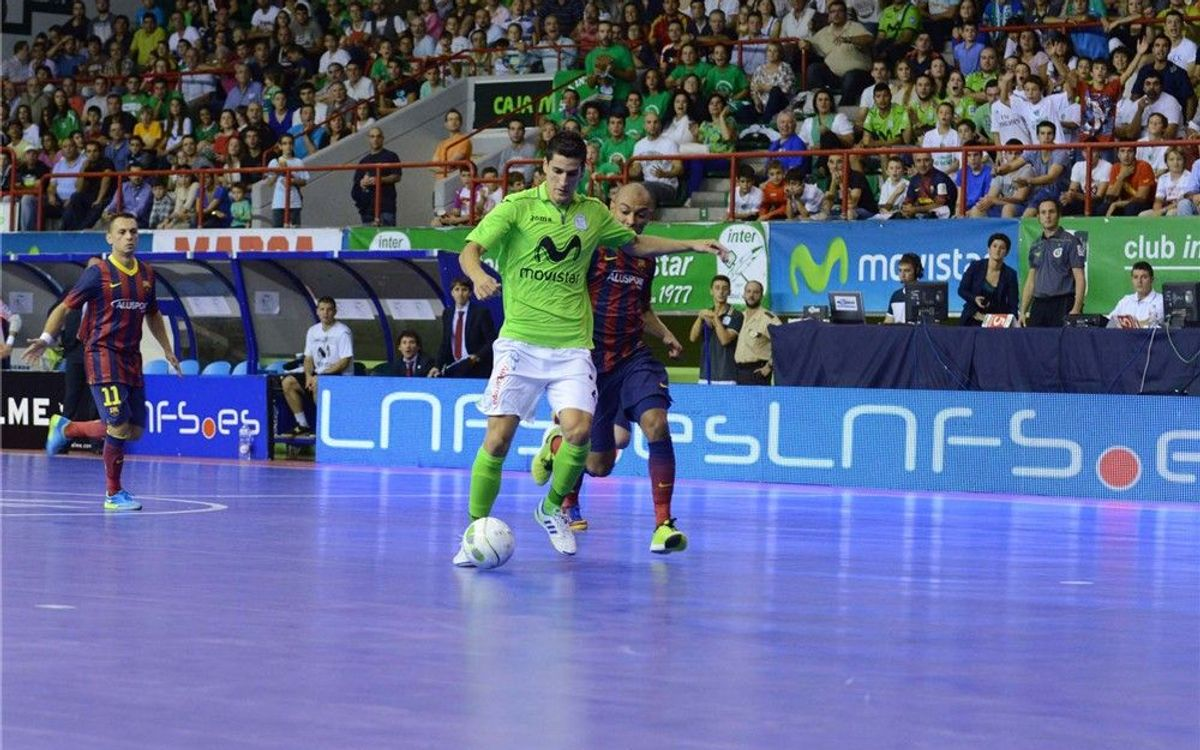Inter Movistar – FC Barcelona Alusport: Repartiment de punts entre dos colossos (2-2)
