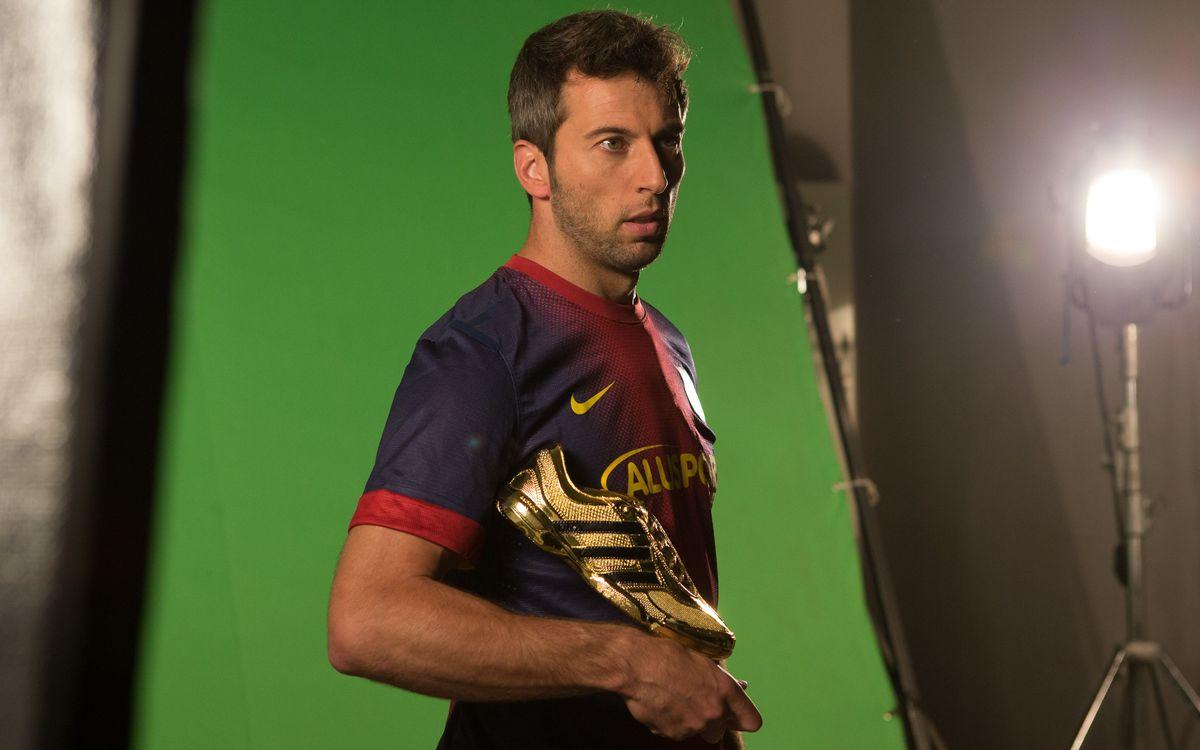 El Barça Alusport grava un espot perquè el Palau sigui el sisè jugador