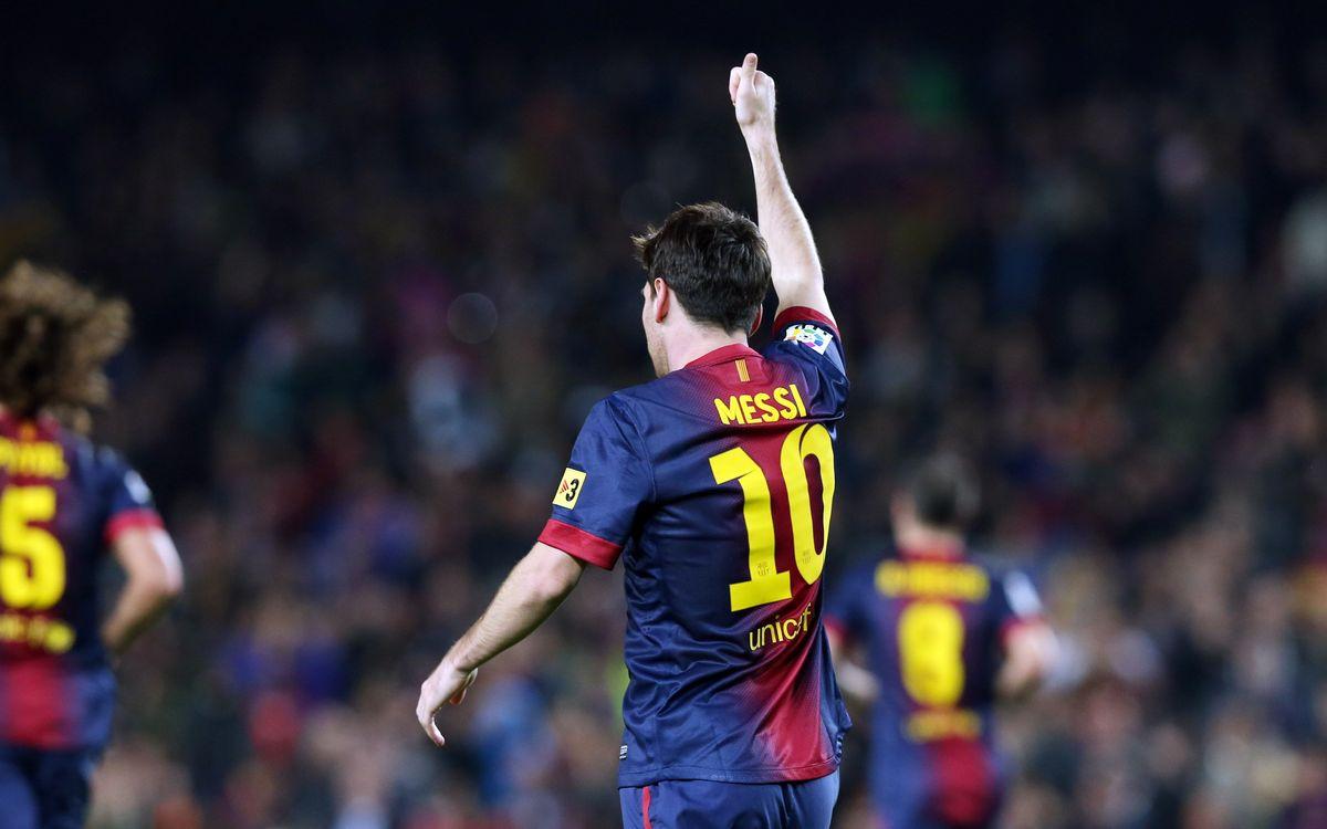 Han passat 10 anys des del debut de Leo Messi
