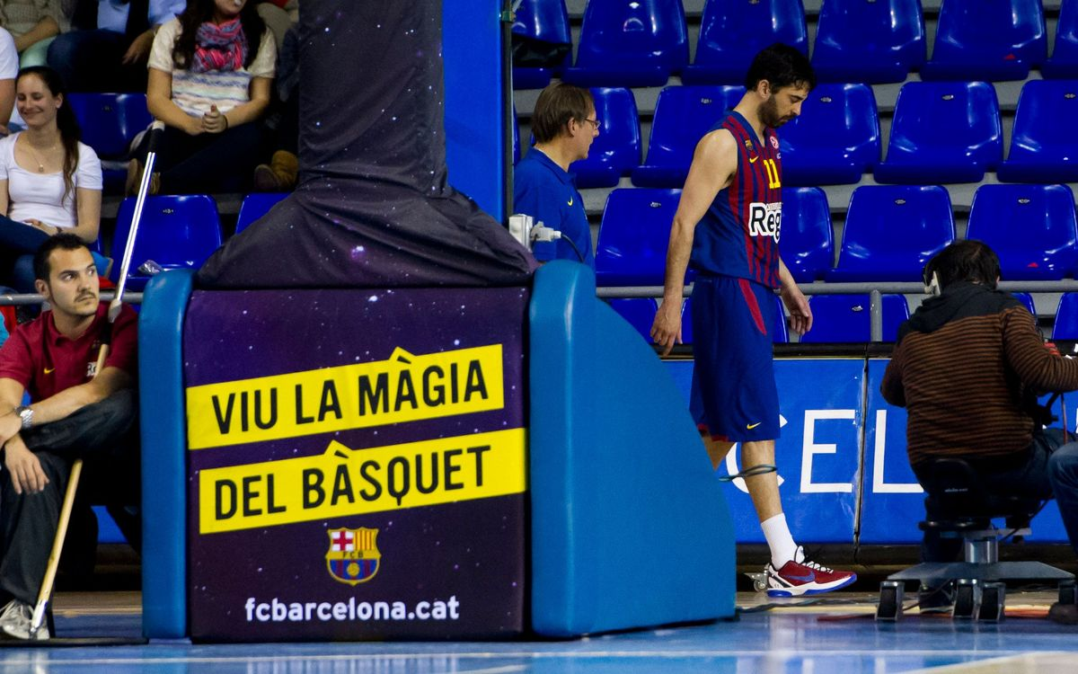 Juan Carlos Navarro out for eight weeks after successful ankle operation