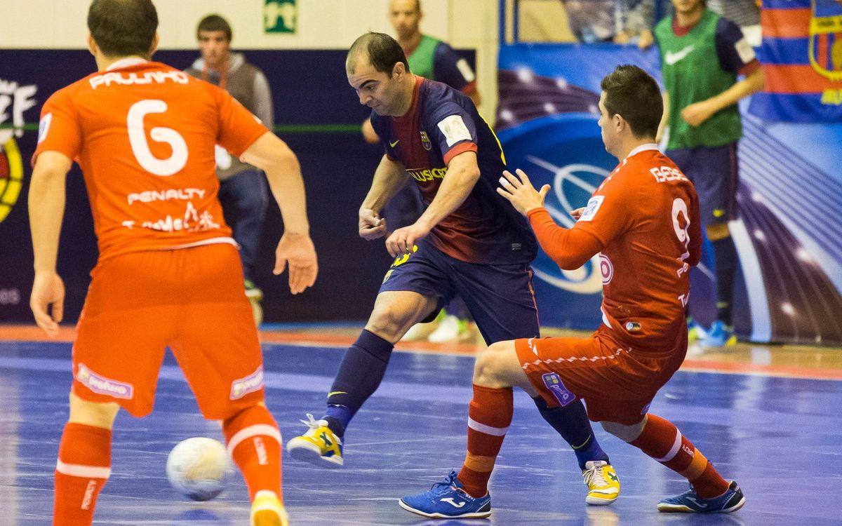 Els blaugranes comencen avui el camí per poder guanyar la quarta Copa del Rei davant del Fonononós Gomera
