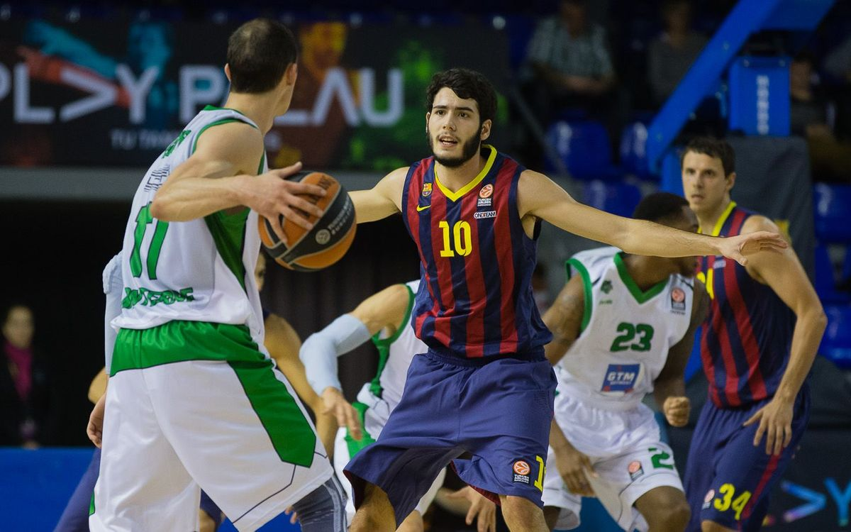 FC Barcelona - Nanterre: A Halloween to forget (67-71)