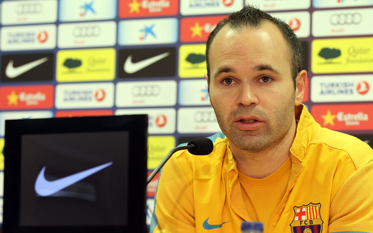 "Andrés Iniesta: ""I am where I want to be and I belong at Barça"