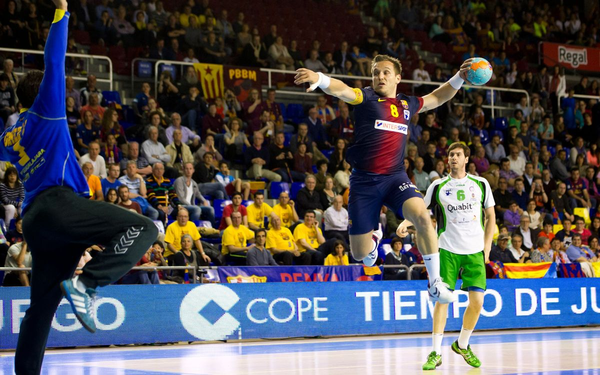 BARÇA INTERSPORT – BM GUADALAJARA: Victoria before Cologne (39-23)