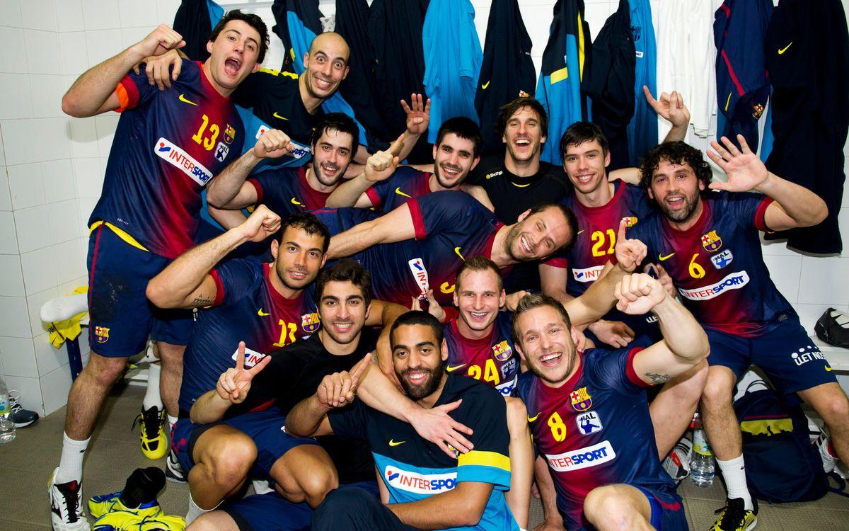 Ademar León – Barça Intersport: Champions (25-30)