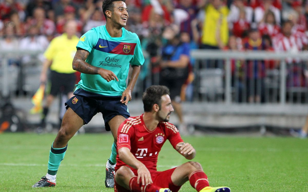 Thiago Alcántara sold to Bayern Munich for 25 million euros