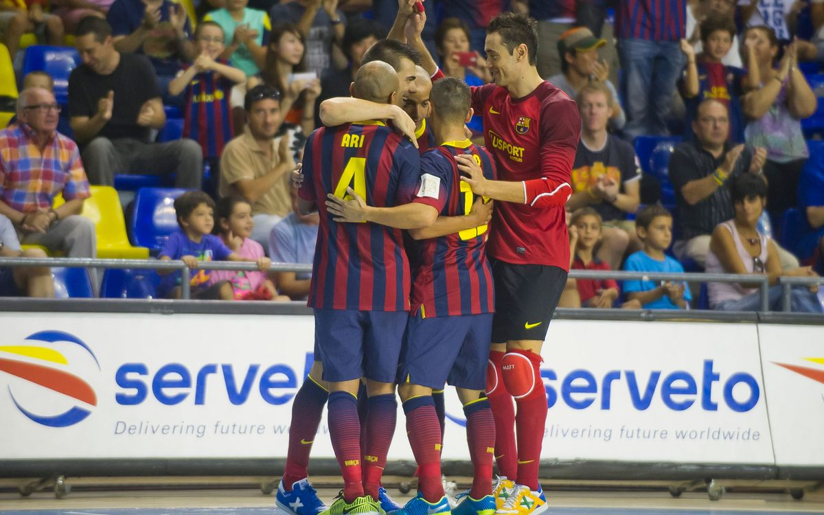 FCB Alusport - Jaen Paraíso Interior: Strong performance at the Palau (5-0)