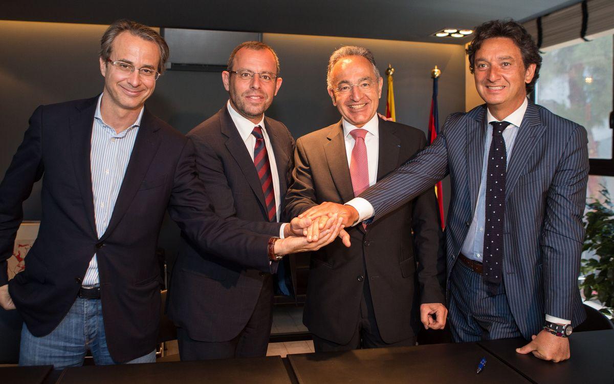 Le FC Barcelone et MoraBanc renouvellent leur contrat de sponsoring