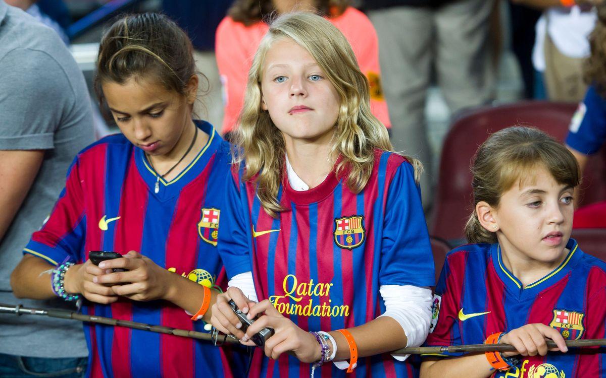 Barça-Granada: Sol·licitud d'entrades per a menors de 8 anys