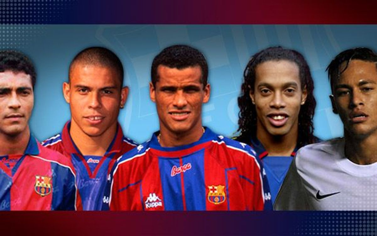 From Romário to Neymar - the Brazilian tradition upfront at the Camp Nou