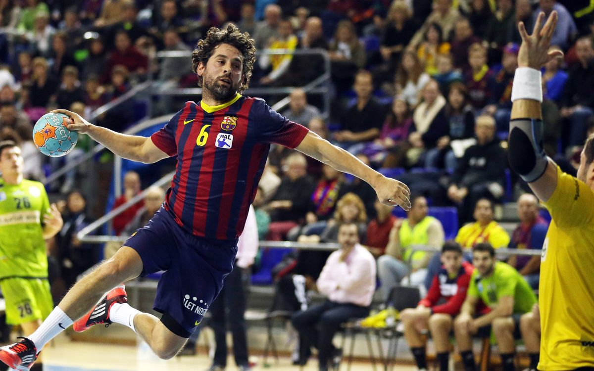 FC Barcelona – Naturhouse La Rioja: 15 out of 15 (33-16)