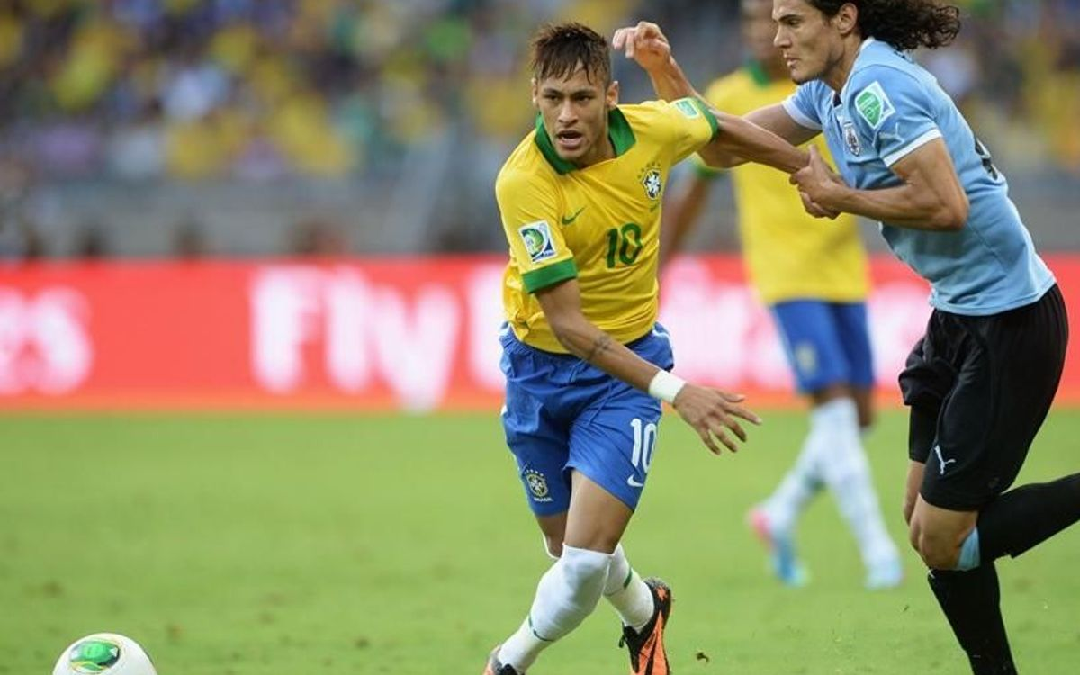 Neymar and Alves' Brazil through to the final of the Confederations Cup
