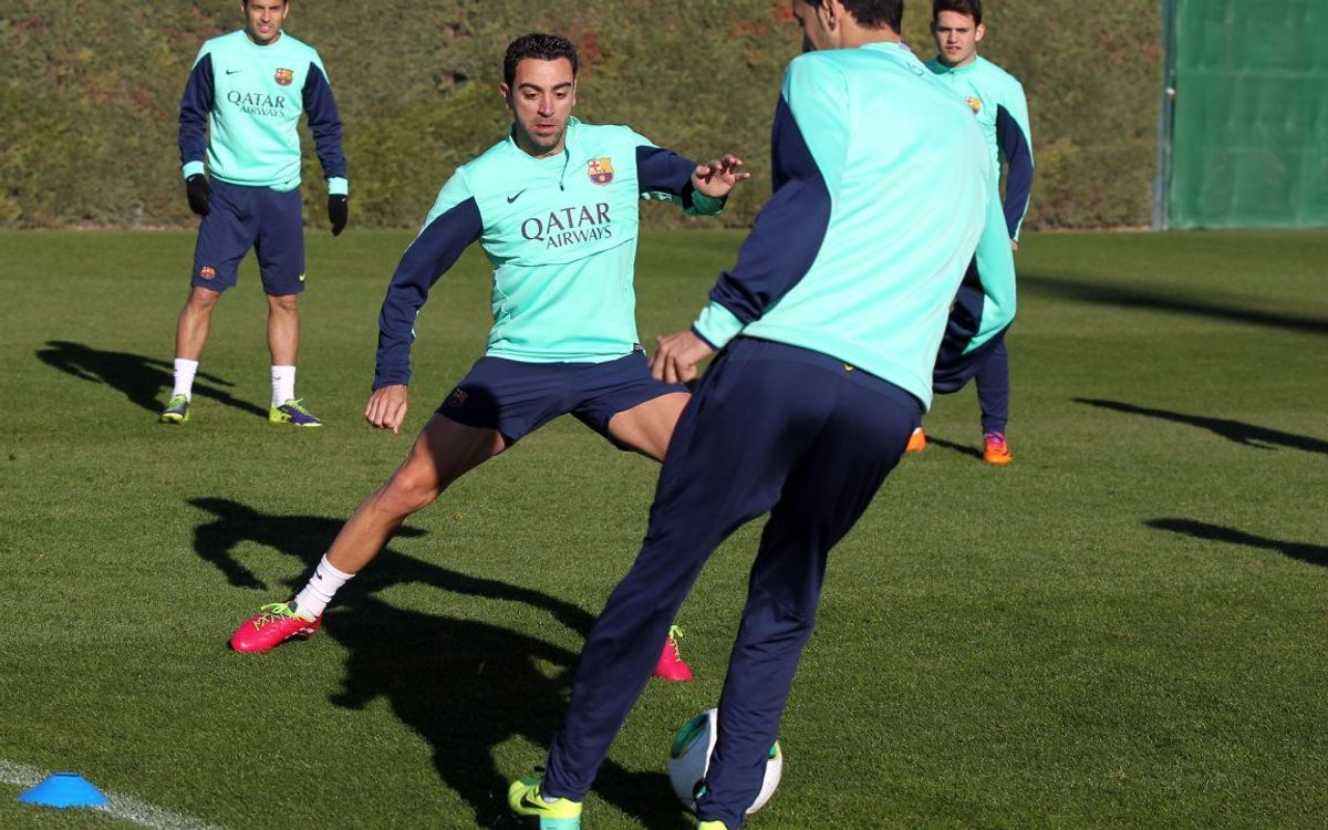 Xavi rested for Cartagena match