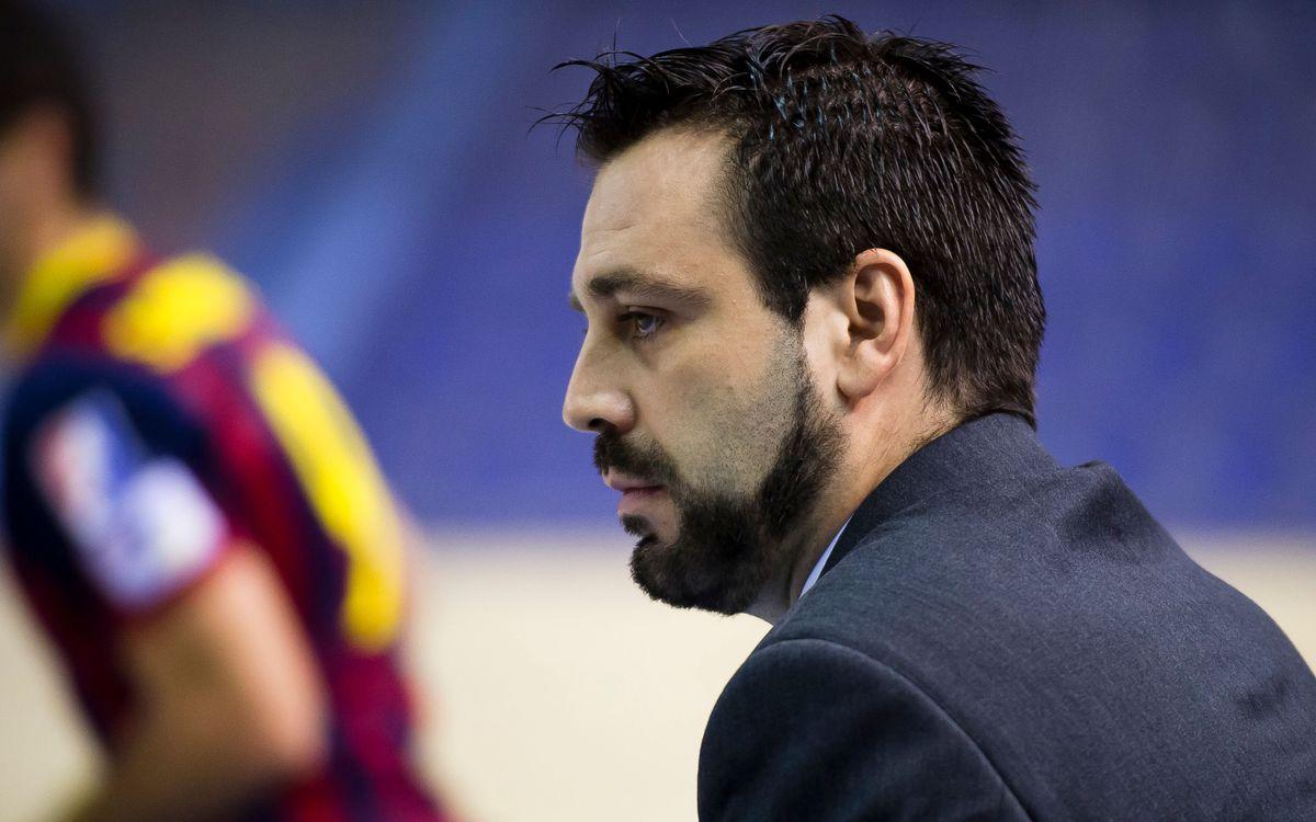 """Ricard Muñoz: """"El partit contra el Cerceda serà un duel difícil de trencar"""""""
