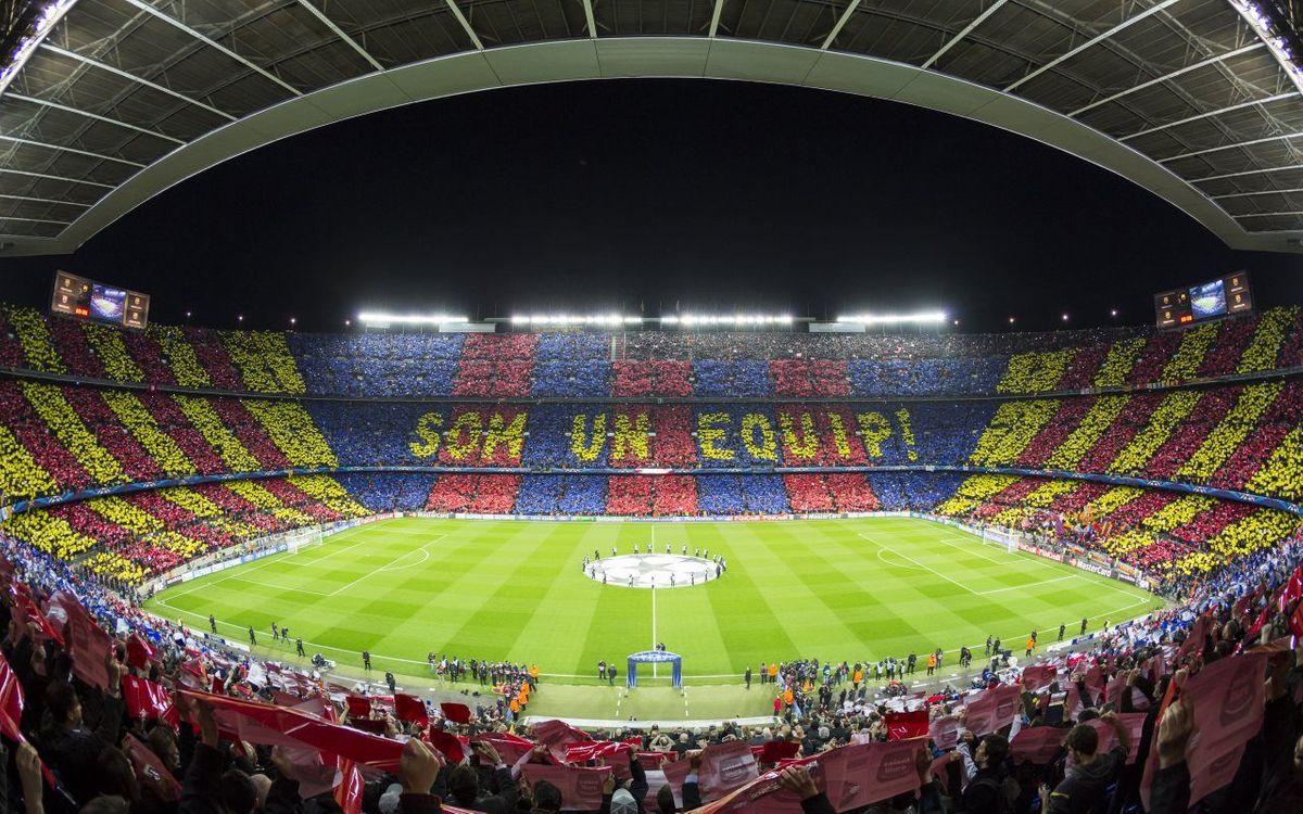Explica'ns el teu primer partit al Camp Nou amb l'etiqueta #PrimerDiaCampNou