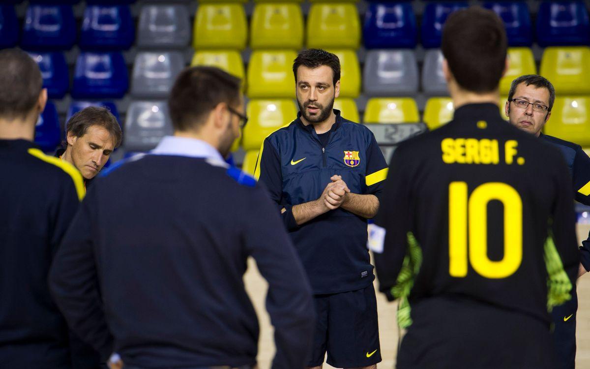"""Ricard Muñoz: """"L'únic objectiu és el partit davant el Calafell"""""""