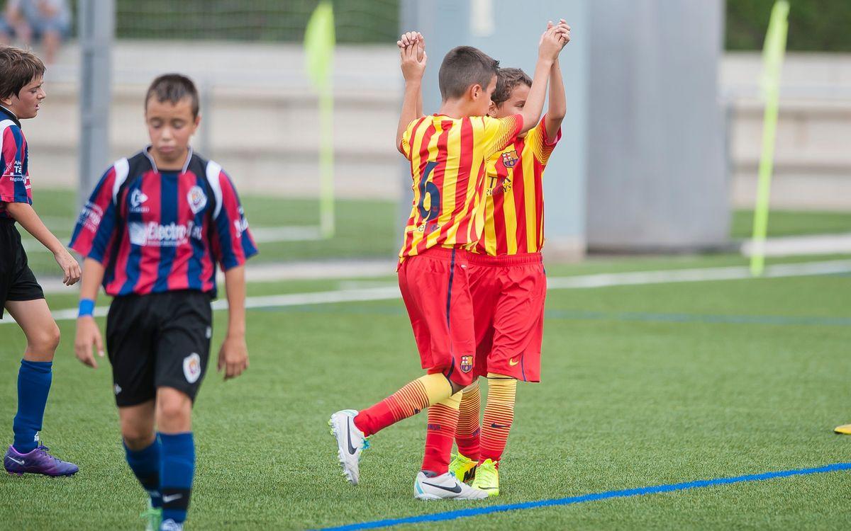 Five more spectacular goals from La Masia teams