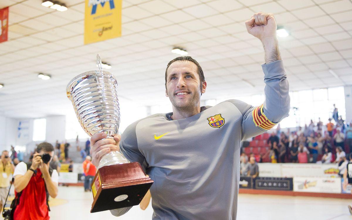"""Aitor Egurrola: """"La Supercopa ajuda a agafar bones dinàmiques"""""""