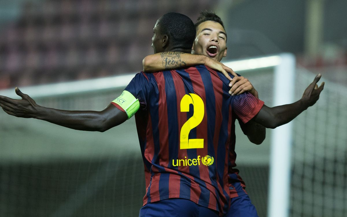 Juvenil A – AC Milan: FC Barcelona qualify for the Round of 16 (1-1)