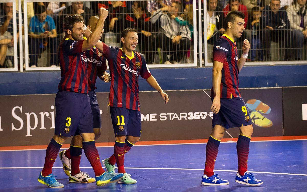 But splendide du FC Barcelone Alusport
