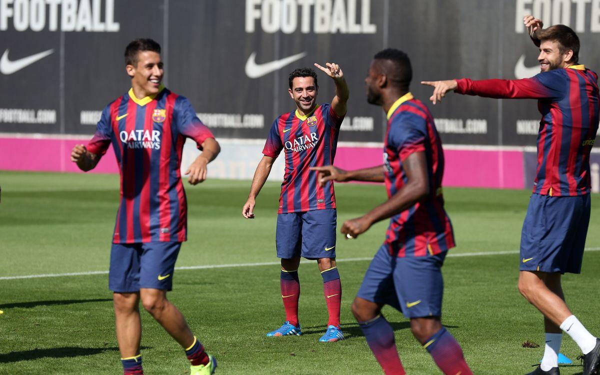 Vint convocats contra el Sevilla amb Sergio, Xavi i Alexis com a novetats