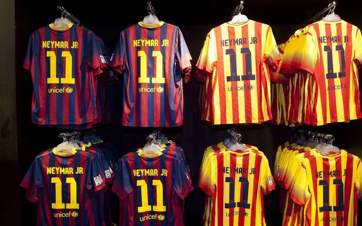 Neymar, nouveau 11 du Barça