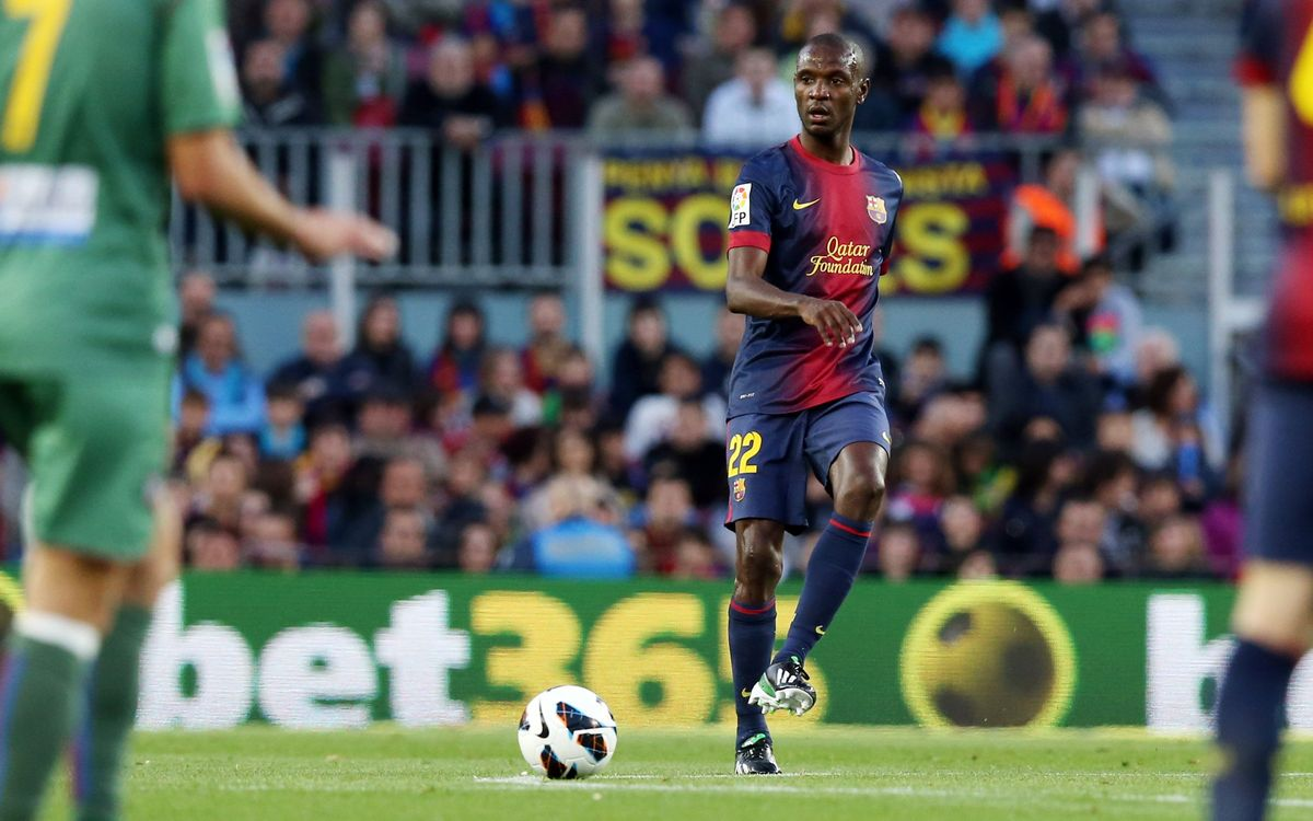 Abidal plays the full 90 minutes