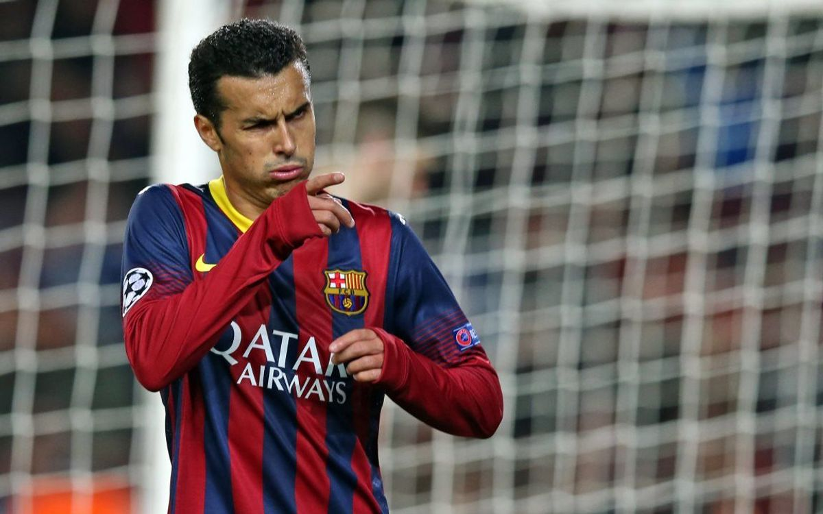 "Pedro: ""We're on the right track"""