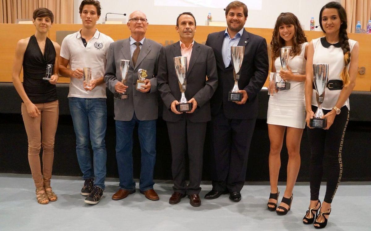 La secció d'atletisme, premiada a la Diada de l'Atletisme Català