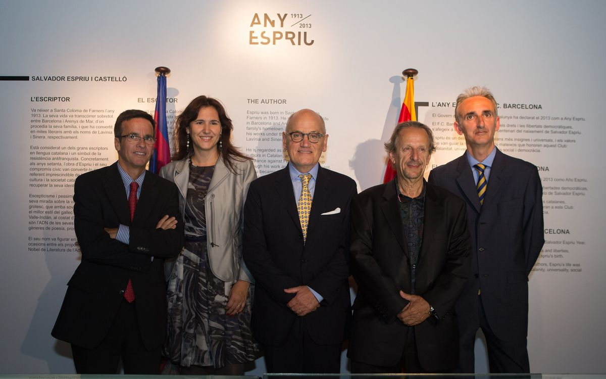The FC Barcelona Museum unveils its Salvador Espriu exposition