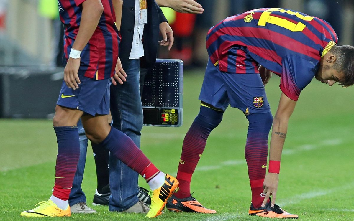 100 dies del debut de Neymar amb el Barça