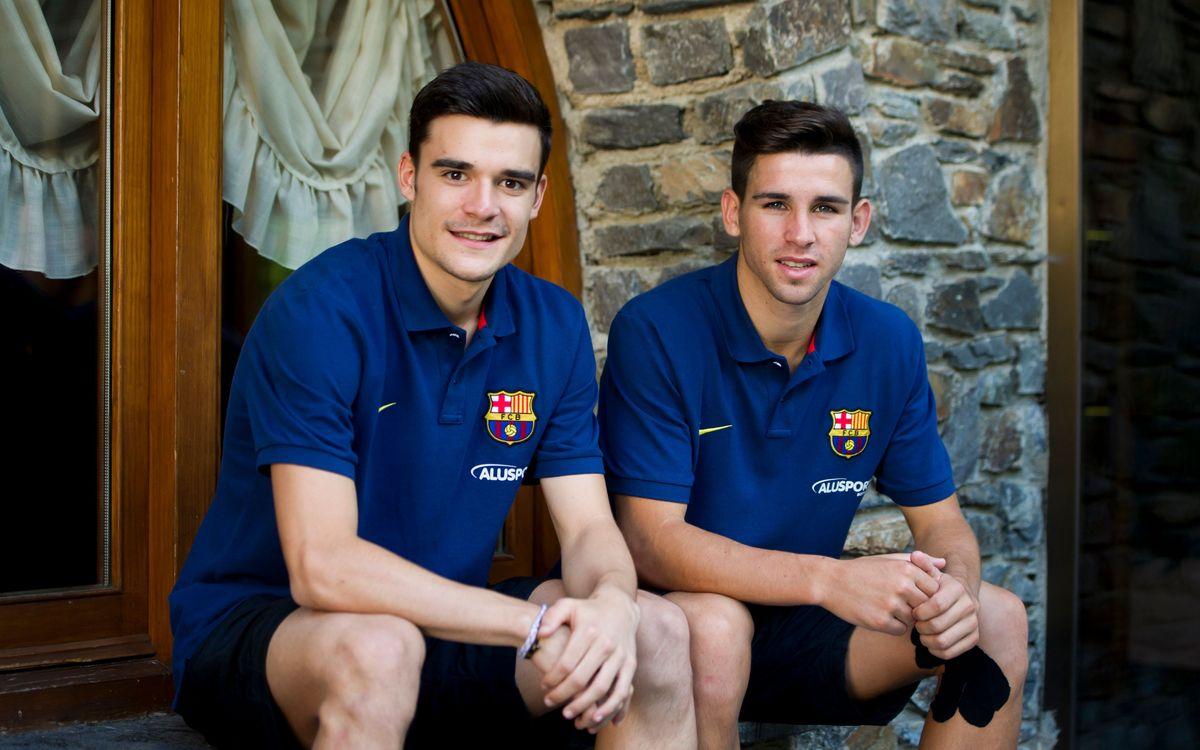 Álex Constantino i Ferran Plana són les cares noves de la pretemporada del Barça Alusport