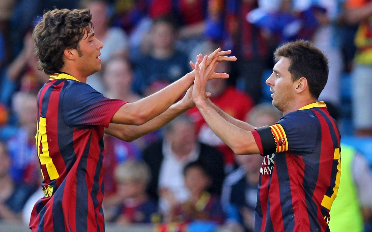 Valerenga v FC Barcelona: Oslo sees first Barça win of 2013/14 preseason (0-7)