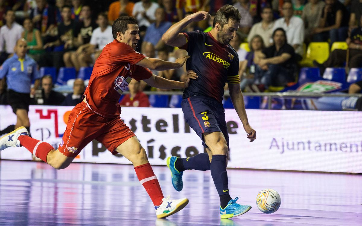 El Pozo and Barça Alusport play the third match just over 24 hours after playing the second