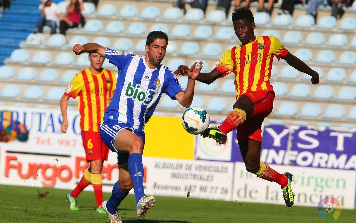 Ponferradina – Barça B: Un penal condemna el filial (1-0)