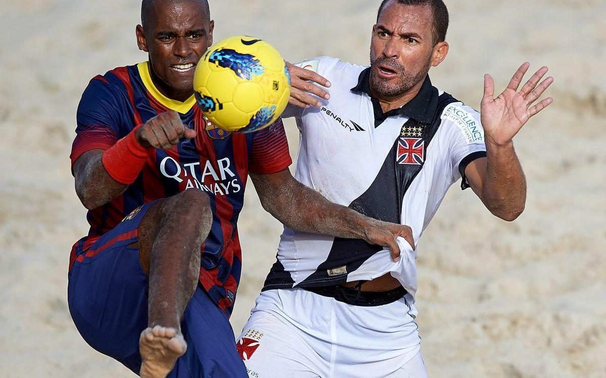 Vasco da Gama - FC Barcelona: L'equip de futbol platja cau als penals en el primer partit del III Mundialet de Clubs (5-4)