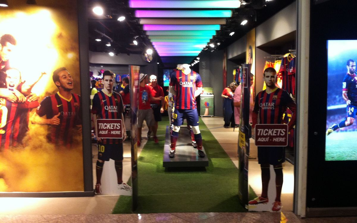 El FC Barcelona potencia la venda d'entrades als llocs turístics