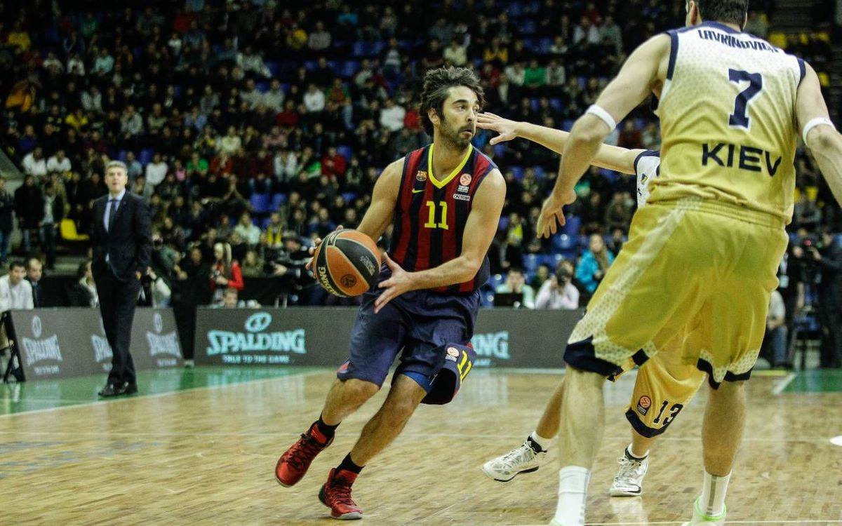 Budivelnik - FC Barcelona: Strong defence leads Barça to victory (74-84)