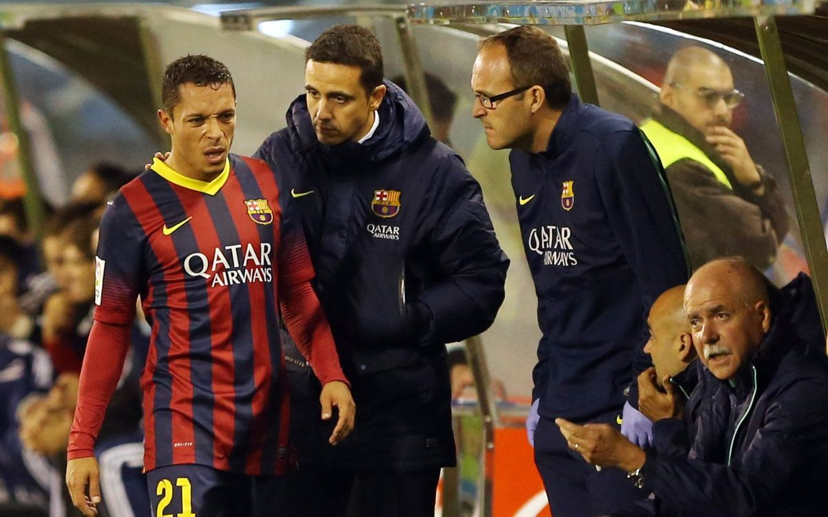 Adriano subbed before the break as a precaution