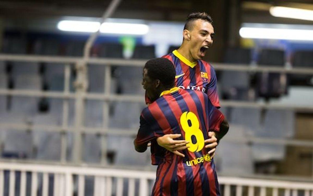 Full replay: FC Barcelona Juvenil A v Ajax (4-1)