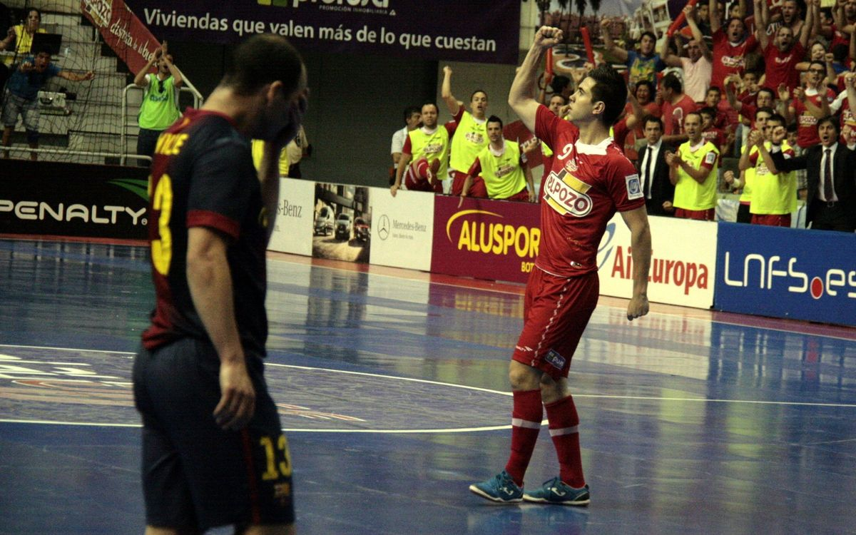 ElPozo defeat Barça Alusport and level the series (3-2)